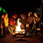 Отдых на природе - вокруг огня мангала FirePit!