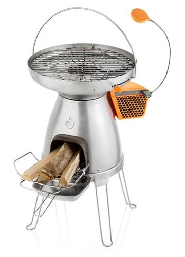 Печь-гриль с электрогенератором Biolite BaseCamp - фото 4428